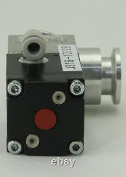 10028 Leybold Vacuum Angle Valve Ev 16 Ep Al Os