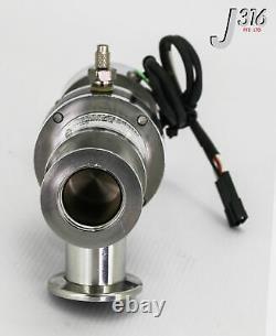 13838 Nor-cal Pneumatic Isolation Angle Vacuum Valve Esvp-1002-nwb-m