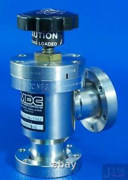 1425 MDC Ultra-high Vacuum Angle Valve, 996035, Amat 3870-01352 Av-150m-1042