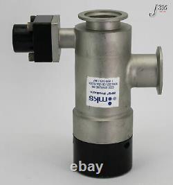 15904 Mks Hv Pneumatic Vacuum Angled Valve, Flange Kf40 L2-40-ak-225-vnvnh