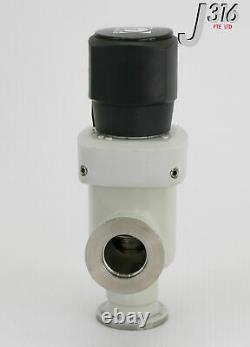 18938 Leybold Vacuum Angle Valve, 28630 Ev 16 Qs Va