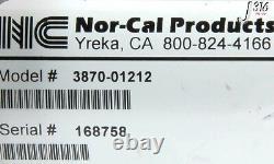 4426 Nor-cal 3-way Pneumatic Angle Isolation Valve 3870-01212