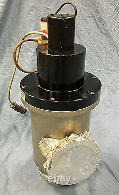 4 MKS 155-1100P-24VDC High Vacuum Pneumatic Angle Valve ISO NW100 Flanges 150