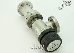 8004 Varian High-vacuum VLV Right Angle 1.5'' H/o L6591-301