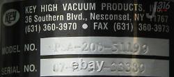 8331 Key High Vacuum 2-way Angle Valve Psa-200-51199