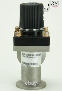 9613 Mks Angle Vacuum Valve, Manual Operated Cv25-k2k2-mkvv