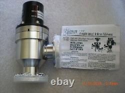 AMAT MDC AV-150M-P-10 1 1/2 Ultra-High Vacuum Bellows Angle valve Pneumatic