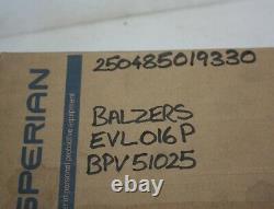 BALZERS EVL 016 P Vacuum Right Angle Valve BPV51025 DN16