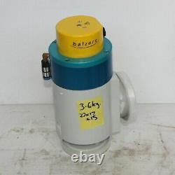 BALZERS EVL 063 P Vacuum Right Angle Valve 1.5 Inch