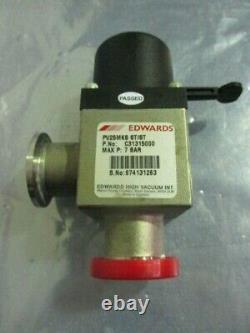 BOC Edwards C31305000 Manual Right Angle Isolation Valve, PV25MKS ST/ST, 7 Bar