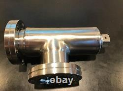 Bakeable All-Metal Right Angle Vacuum Valve Vacgen ZCR40R CR Series