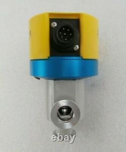 Balzers BPV51025 Right Angle Vacuum Isolation Valve EVL 016 P Working Surplus