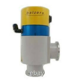 Balzers BPV51325 Right Angle Vacuum Isolation Valve EVL 040 P Working Surplus