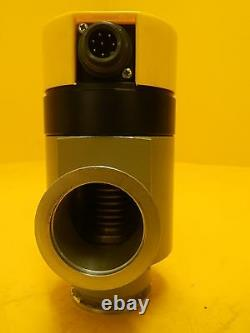 Balzers BP V16 013 Vacuum Right Angle Valve EVA 040 P BPV16013 Used Working