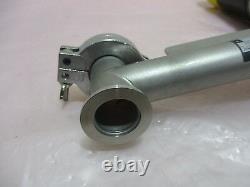 Balzers EVA 025 M Right Angle Vacuum Valve with Mont Satz F. Pump, 115V. 420152