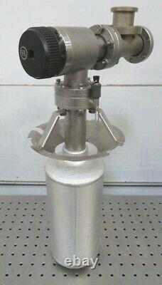 C165911 Varian 951-5092 Sorption Pump & Manual Angle Vacuum Valve 2.75 Conflat