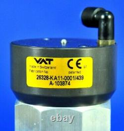 D16 Vat Hv Angle Iso-kf25 Vacuum Valve 26328-ka11-0001