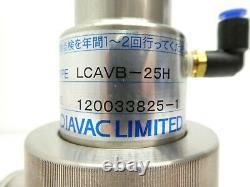 Diavac Limited LCAVB-25H Pneumatic Right Angle Valve Working Surplus