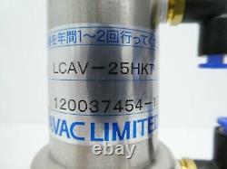 Diavac Limited LCAV-25HKT Pneumatic Right Angle Valve Working Surplus
