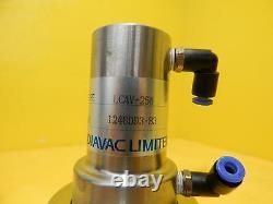 Diavac Limited LCAV-25H Pneumatic Angle Valve MRC Eclipse Star Used Working