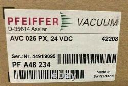 EBAY SHELF Pfeiffer Vacuum PFA48234 / PF A48 234 Electropneumatic Angle Valve