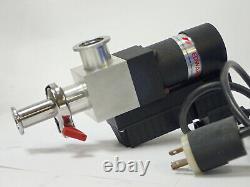 Edwards Pv25eka Vacuum Valve C41303000 Solenoid Right Angle Isolation Valve 115v