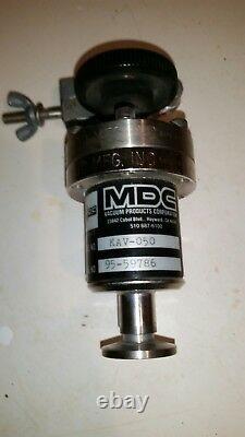 Gently Used MDC Manual Angle Vacuum Valve KAV-050