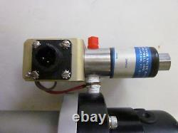 HPS MKS Vacuum Bellows Sealed Angle Gate Valve NW-25, 1 with Skinner Solenoid