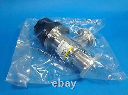 Htc vacuum Manual Vacuum Angle Valves KF Flanges with bellows (AVB-KF40-M)