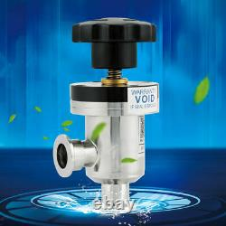 KF25 304 High Vacuum Manual Right Angle Bellow Isolation Valve -30150