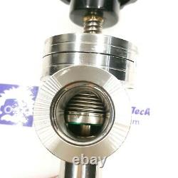 KF25 manual right angle valve bellow valve Viton seat Vacuum foreline isolation