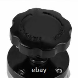 KF50 SS304 Valve High Vacuum Manual Right Angle Bellow Isolation Flapper Valve
