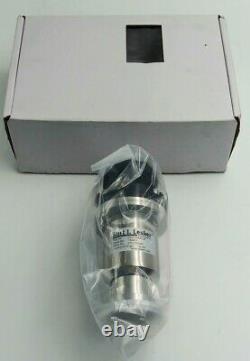 KURT J. LESKER SA0100MVQF Right Angle Vacuum Valve SS Stainless Steel