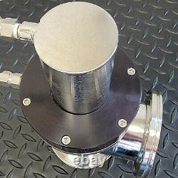 Kurt J. Lesker SA0300PVIK ISO 80 Pneumatic Bellows Sealed SS Angle Valve
