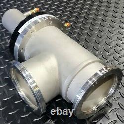 Kurt J. Lesker SA0400PVIK ISO 100 Pneumatic Bellows Sealed SS Angle Valve