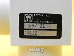Leybold 297 21 Right Angle Pneumatic Vacuum Valve NW16 Used Working