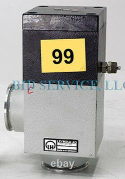 Leybold 297 23 B2 Right Angle Vacuum Valve Tag #99