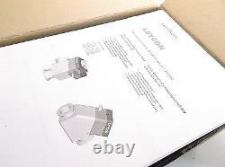 Leybold Part #215317 BAV 40 P AL Right Angle Valve DN 40 ISO-KF New Prepaid
