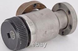 Lot 2 Varian 951-5091 Vacuum Pneumatic CF Right Angle Manual Bellows Valve