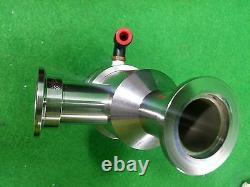 MDC ANGLE VALVE-NW25-HV-PNEU, VACUUM PRODUCTS CORPORATION, Used
