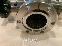 MDC Angle Manual Vacuum Valve AV-150M 2.75 1.50 OD Conflat DN40 CF UHV 312029 V2