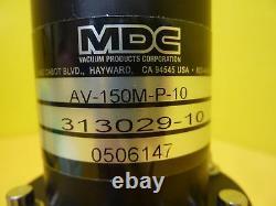 MDC Vacuum Products 313029-10 Angle Valve Kit AV-150M-P-10 AMAT 0246-08723 New