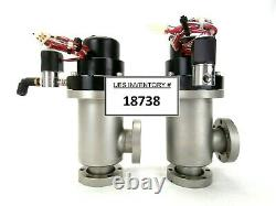 MKS DN40CF Pneumatic Angle Vacuum Valve Plasma-Therm SLR 770/770MF HPS Lot of 2