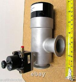MKS HPS 93-6127 High Vacuum Pneumatic Bellows Right Angle Valve 796-801289-001