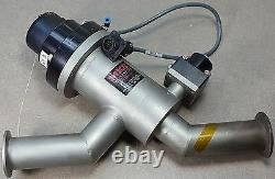 MKS/HPS High Vacuum Research V2-040-IK-225-VLVNH-F12, 180° Angle Valve