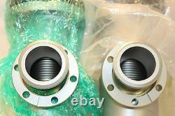 MKS High-Vacuum Right Angle Two-Stage Soft Start Pneumatic Valve 2.75 CF Ports