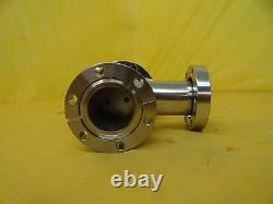 MKS Instruments 99E1694 Pneumatic Angle Valve Used Working