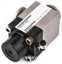 MKS Instruments CV0-KFKF-NCVV 2-Way Pneumatic Vacuum Angle Valve Unit