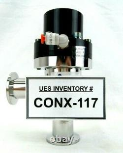 MKS Instruments UHV-25-AKK-ENVN Ultra High Vacuum Angle Valve Used Working