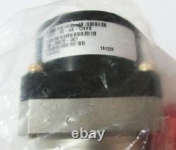 MKS LPV1-40-AK-CNVS 1.5 in Port Right Angle Vacuum Valve